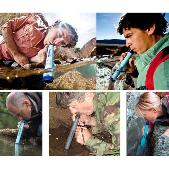 Животоспасяваща система Персонален филтър за вода САЩ