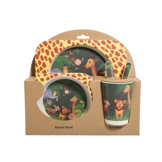 Bamboo fiber children's tableware Lion king