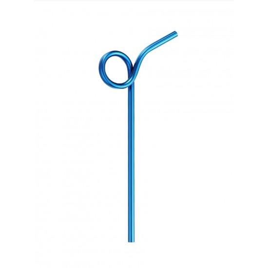 Set 7 pcs Bending Stainless Steel Straws i.save