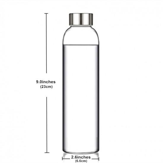 Borosilicate glass bottle